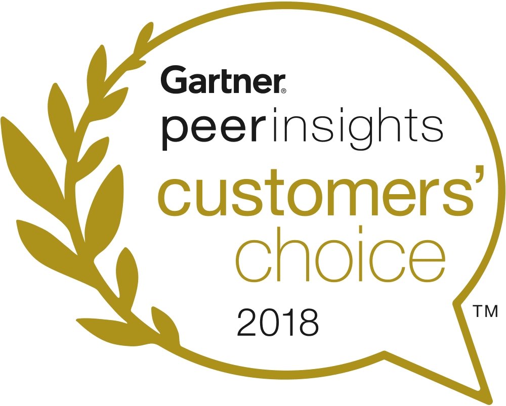 GARTNER CUSTOMER CHOICE 2018